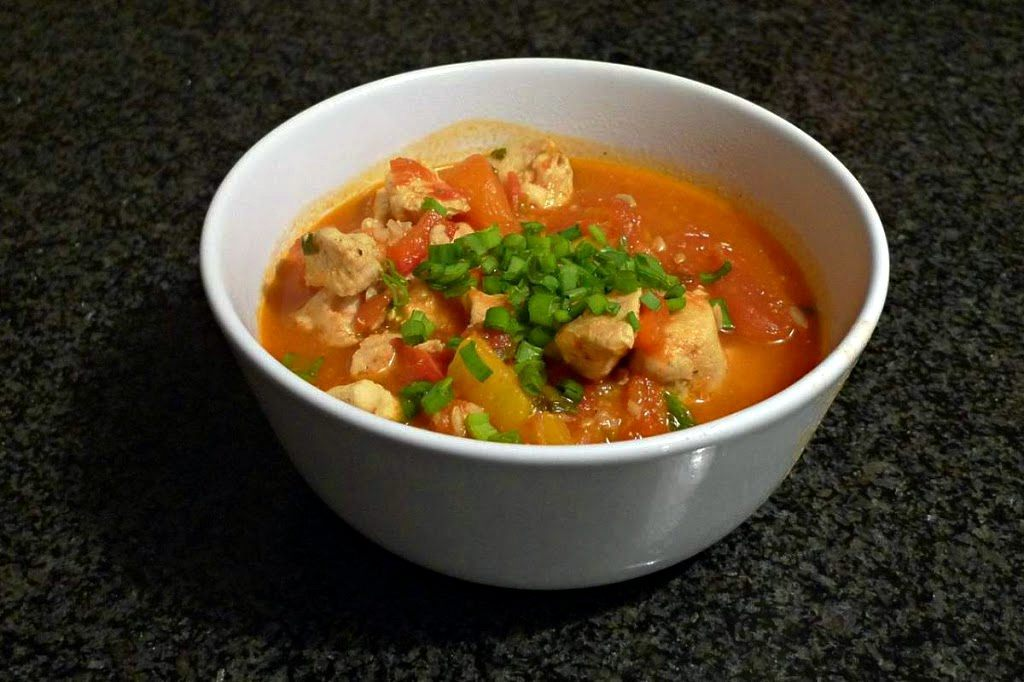 Kurczak z ryżem (jambalaya)