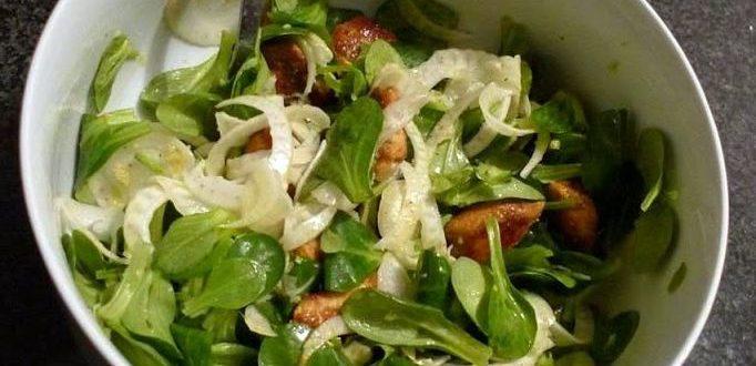 salatka z fenkulem