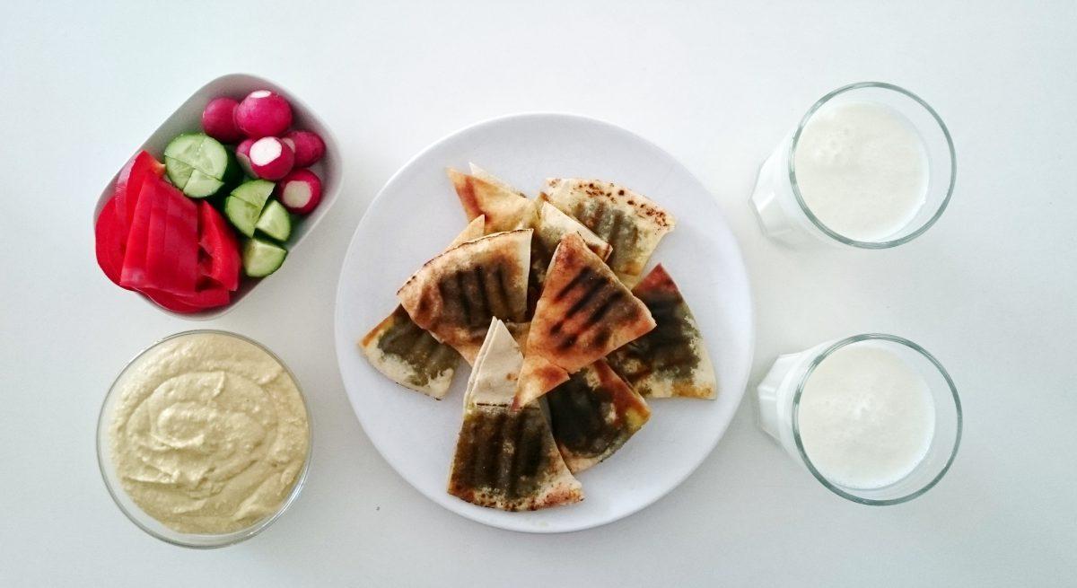 Arabskie śniadanie