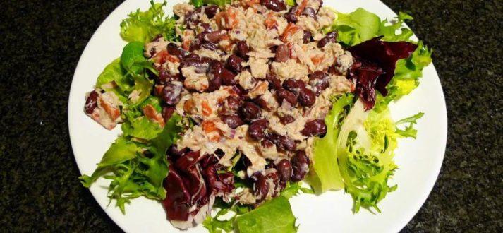 salata z tunczykiem