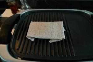 Kanapka z bakłażanem