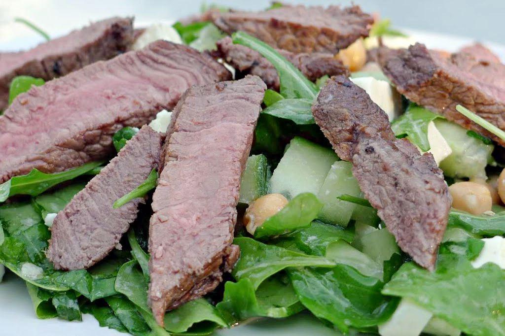 salata z wolowina