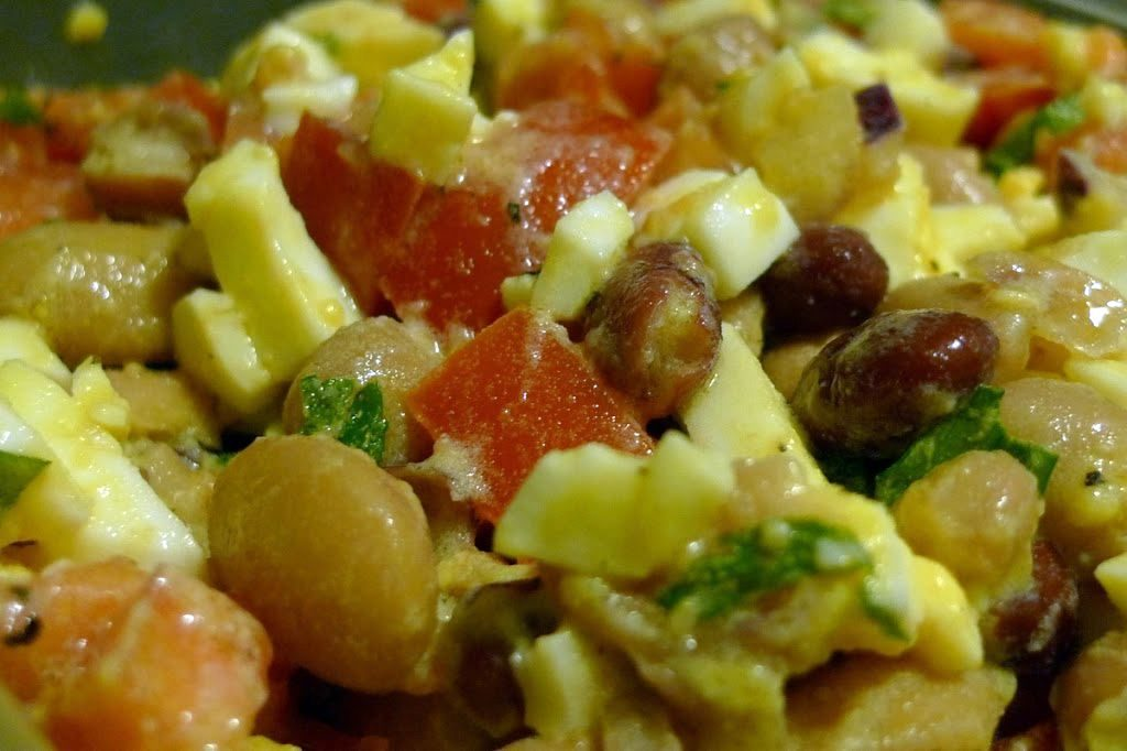 salatka z fasoli z jajkiem 02
