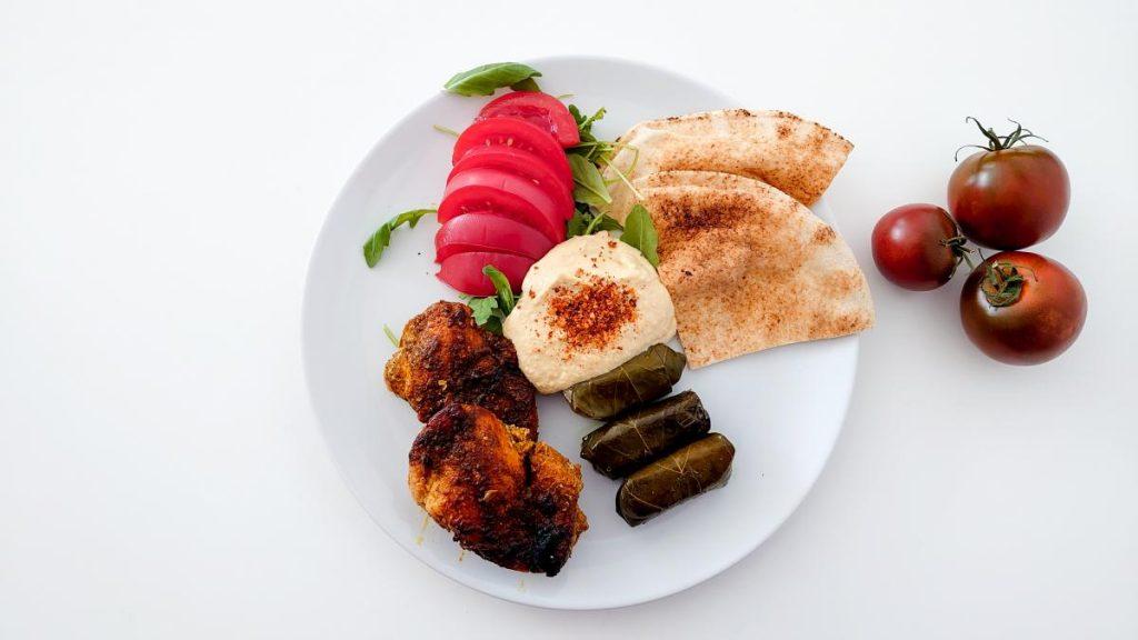 domowy kebab z kurczaka