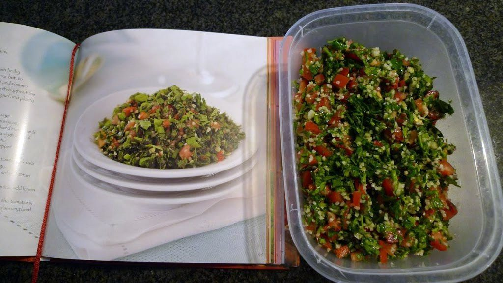 salatka tabbouleh