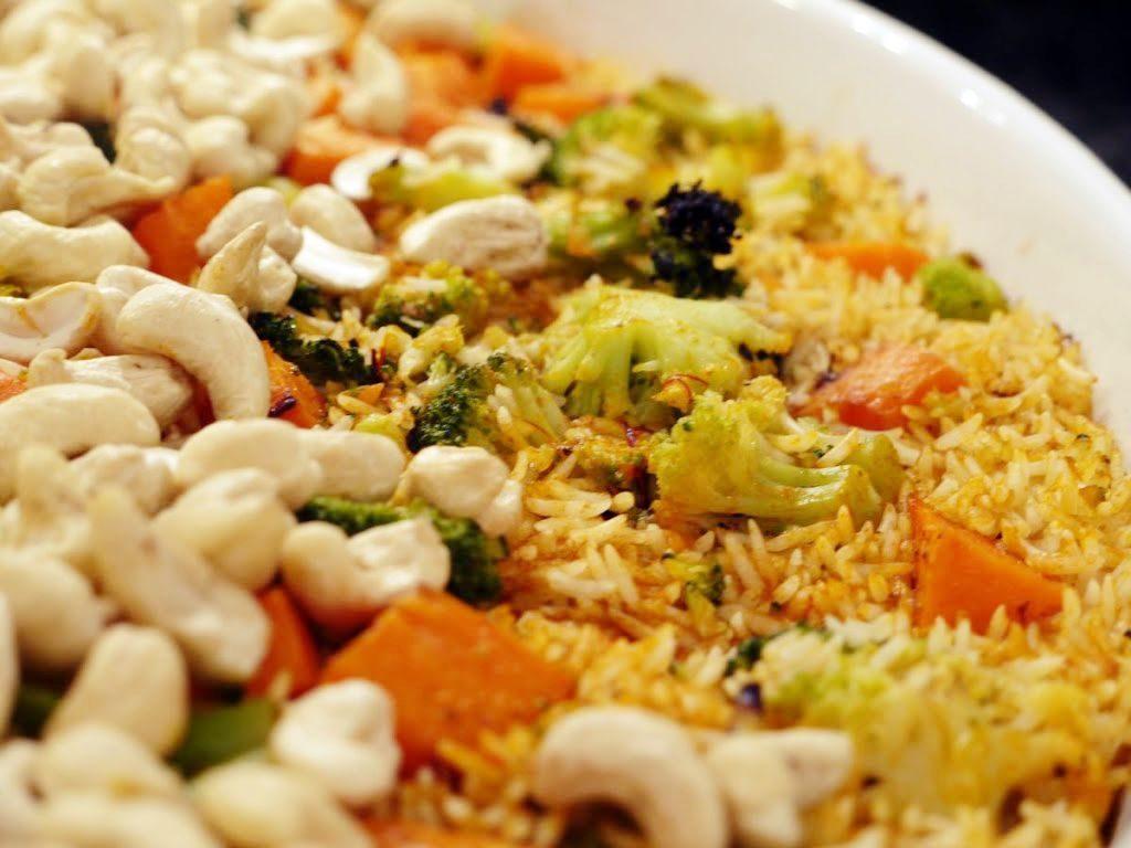 biryani czyli ryż z warzywami