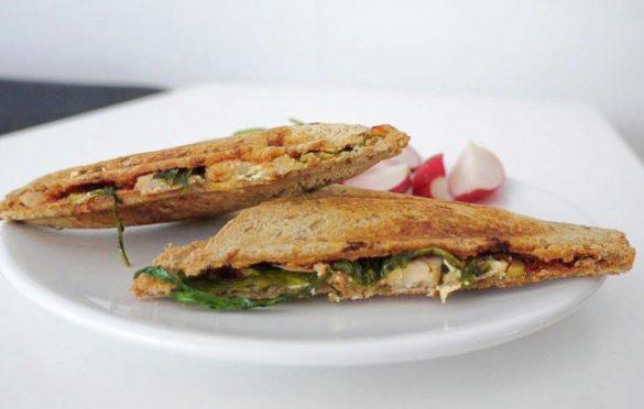 Wykwintne tosty śniadaniowe
