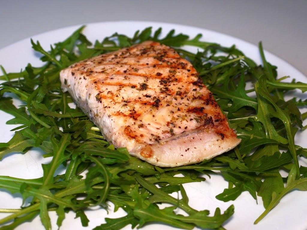 grillowany losos inny