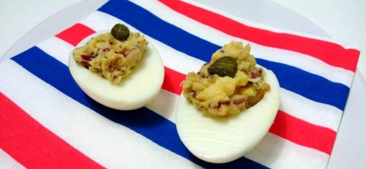 jajka faszerowane po francusku