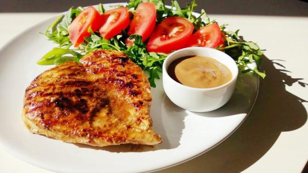 Grillowany kurczak w sosie balsamicznym