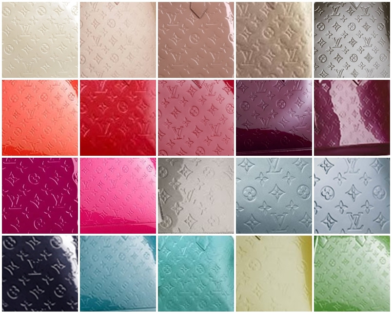 Louis Vuitton Alma Vernis Reference Guide
