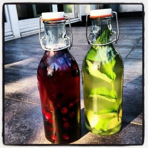 Drinki - owocowy i mojito