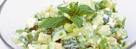 salatka z feta