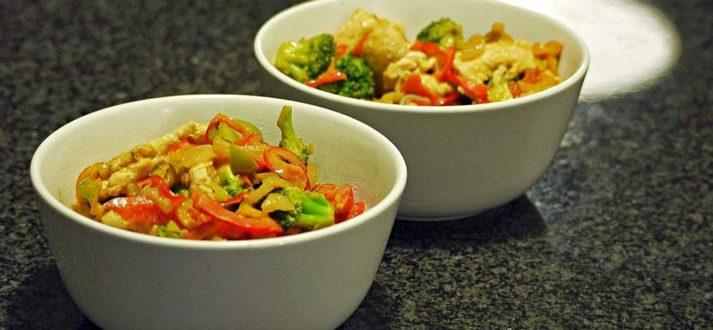 warzywa z woka