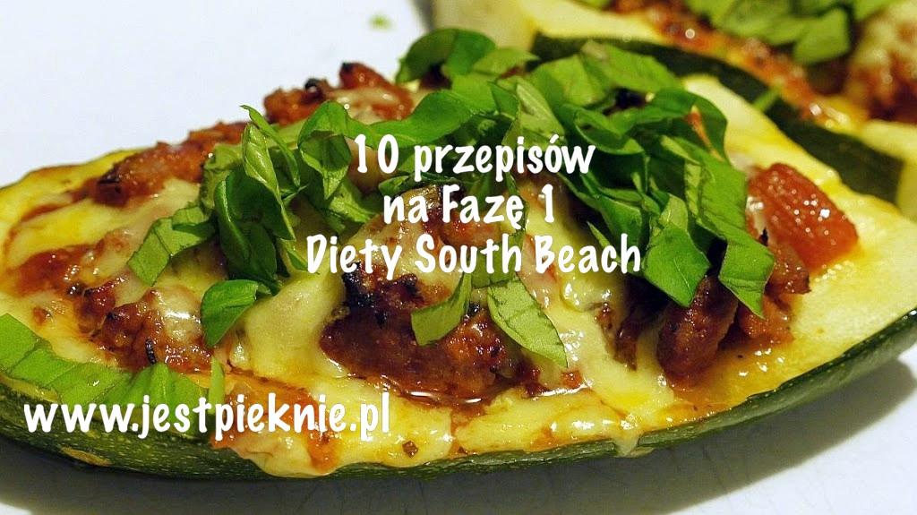 Dieta south beach faza 1 przepisy