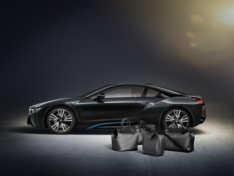 Louis Vuitton tworzy kolekcję bagażu dla BMW i8