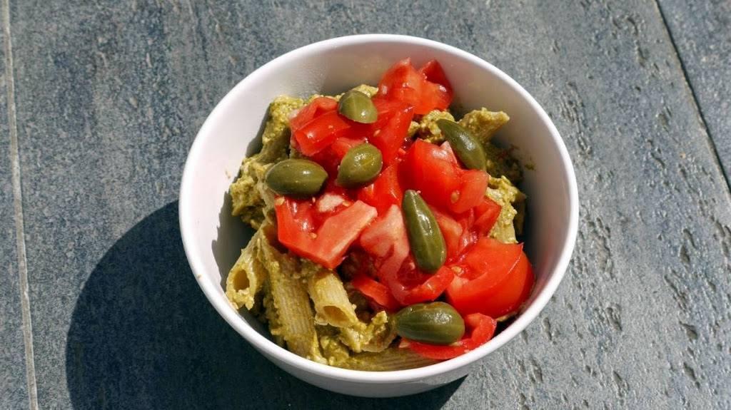 Pesto ze świeżych pomidorów