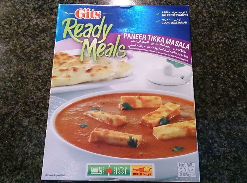 Co warto jeść: gotowe dania Gits (paneer tikka masala)