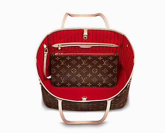 Jak rozpoznac podrobke Neverfull Louis Vuitton wnetrze oryginal