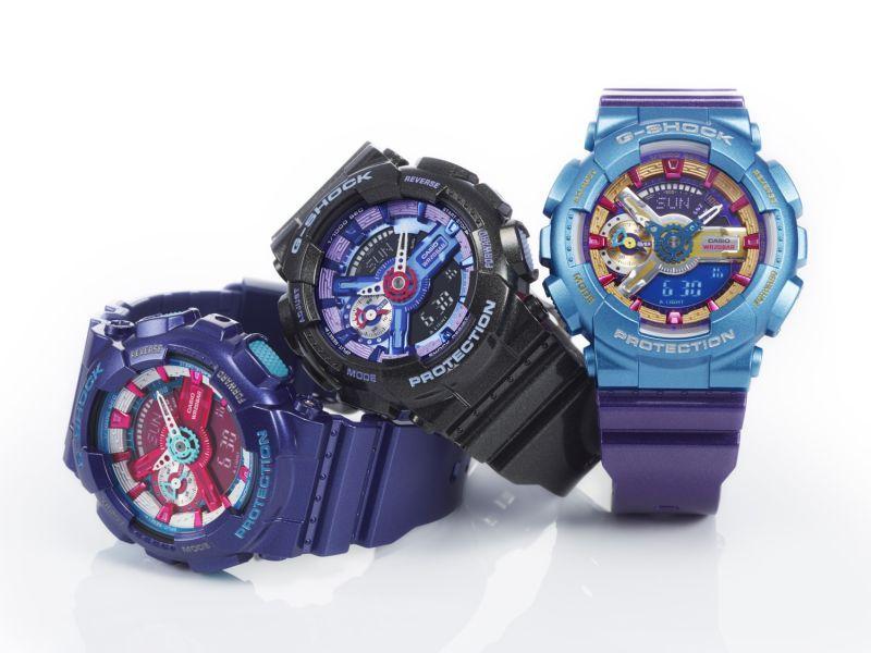 Zegarki Casio G-SHOCK dla kobiet