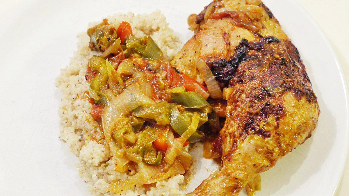 Kurczak w papryce
