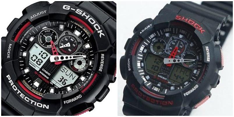 Casio G-Shock Ga-100 porownanie