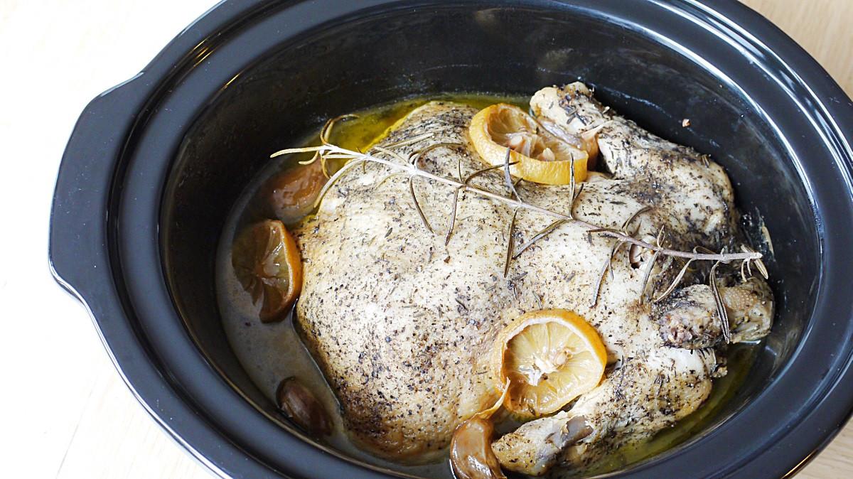 Cytrynowy kurczak z wolnowaru