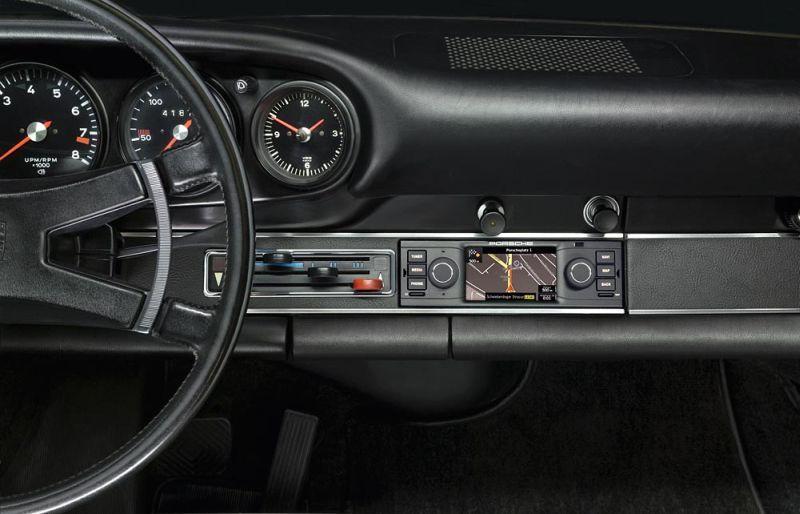 Radio z nawigacją do klasycznych Porsche