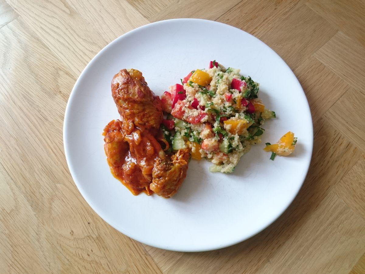 Kurczak po irańsku