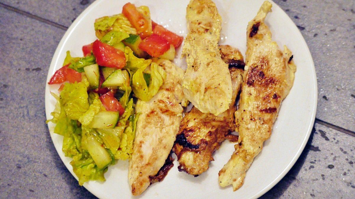 Grillowany kurczak po irańsku