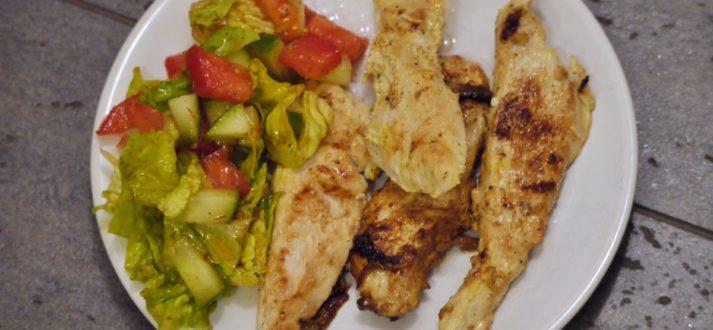 grillowany kurczak po iransku