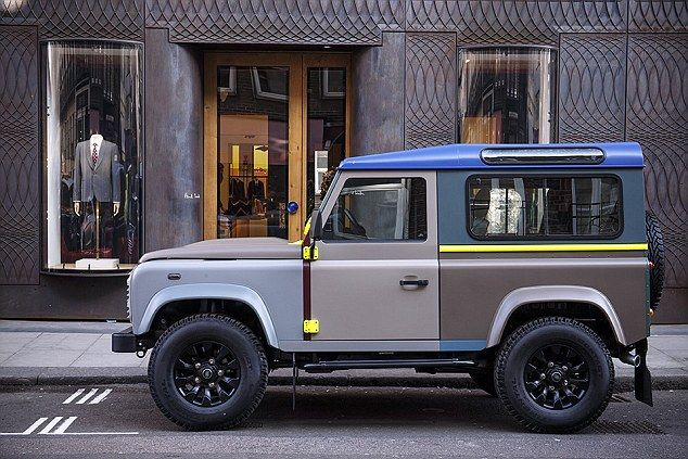 Land Rover Defender x Paul Smith