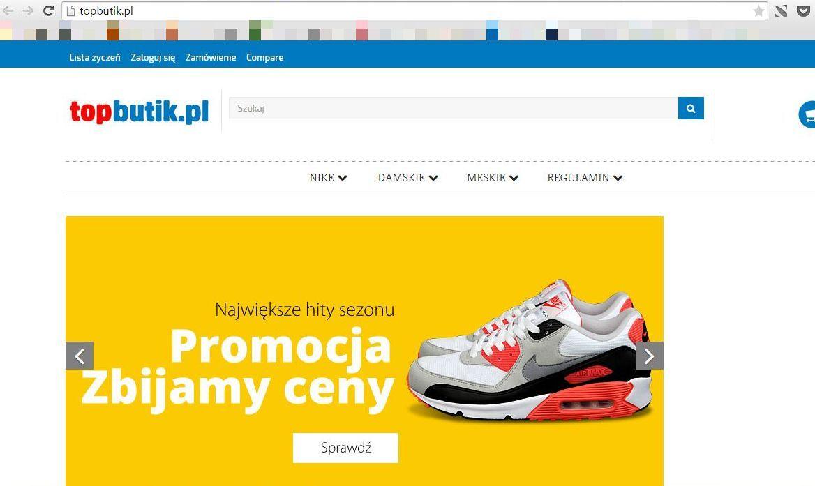 Sklep z podróbkami air max.pl