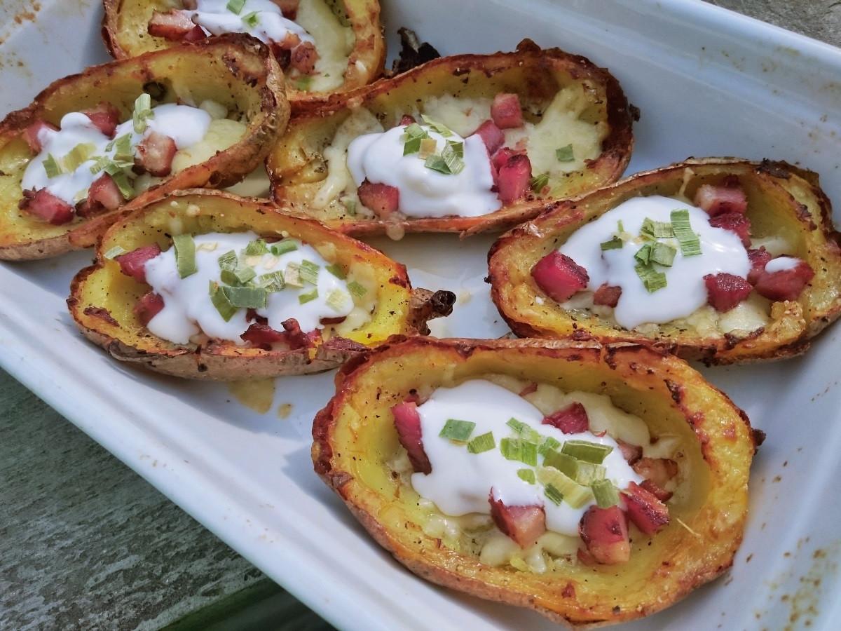 Pieczone ziemniaki (potato skins)