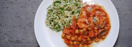 curry z ryba