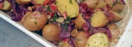 salatka z mlodych ziemniakow