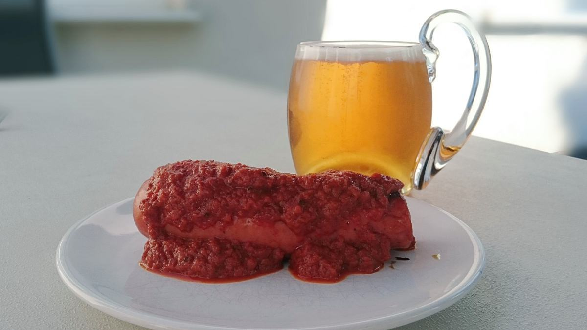 Currywurst jak w Berlinie