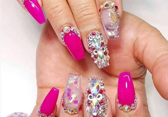 WTF tygodnia: aquarium nails / paznokcie akwarium