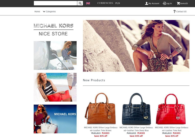 Michaelkorsreal.com sprzedaje podróbki
