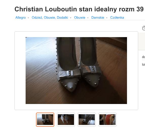 8108ed97 Najsmutniejsza podróbka Louboutin - Jest Pięknie