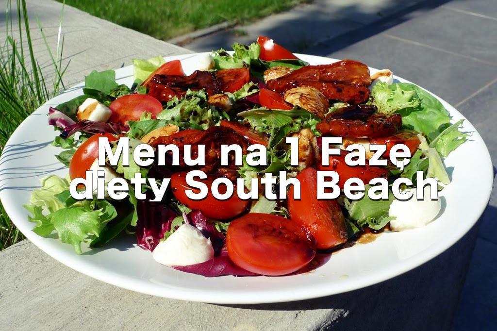 7 dni na 1 Fazie diety South Beach