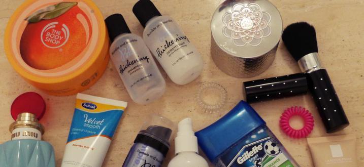Moje ulubione kosmetyki na wyjazd + KOD RABATOWY!