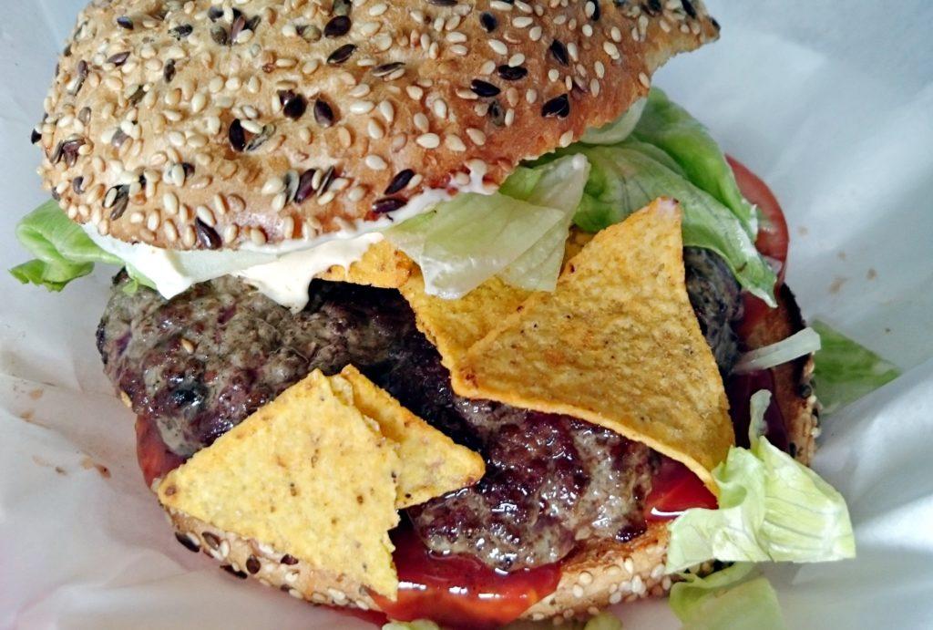 nachos burger little america