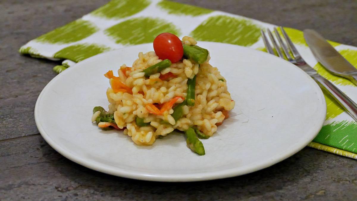risotto ze szparagami 2