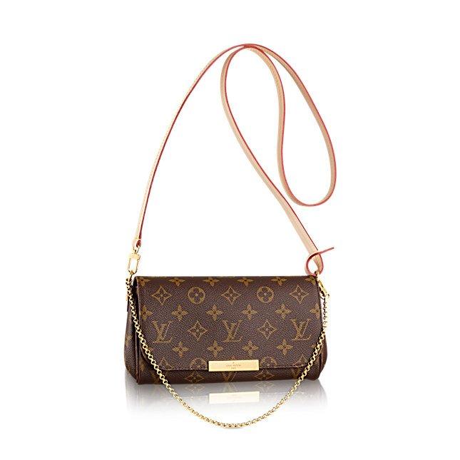 Aha – o tym, jak rozpoznać podróbkę torebki Louis Vuitton Favorite, pisałam  niedawno w blogu. 152036b1b61