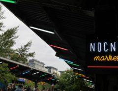 nocny market gorne