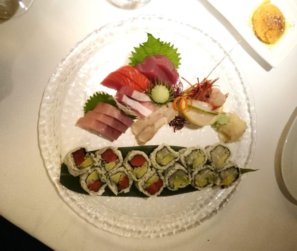 sashimi i sushi