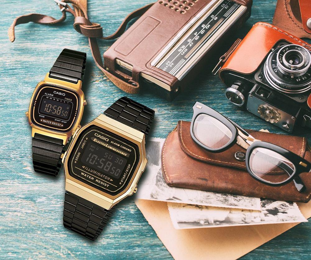 Zegarki Casio Retro w nowej wersji