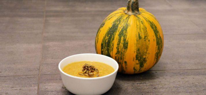 zupa z dyni z soczewica