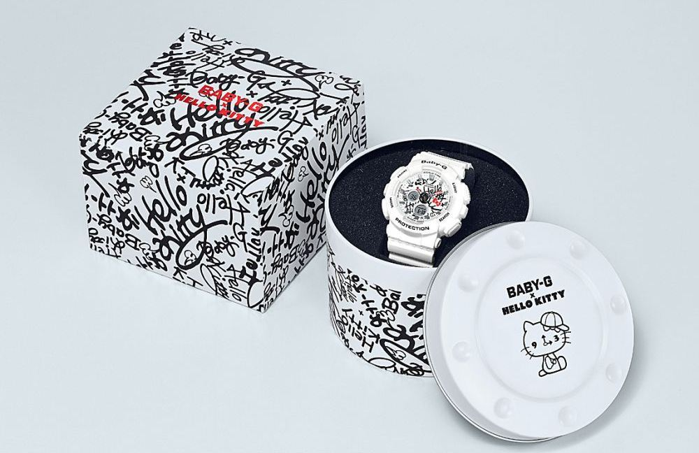 Zegarek Casio Baby-G x Hello Kitty